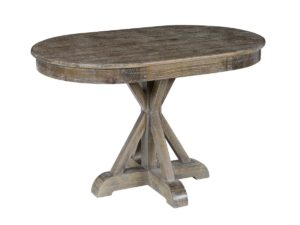 47″ Oval Wood Dining Table