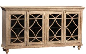 Bacca Distressed Wood Sideboard
