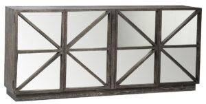 80″ Gila Wood Sideboard with Mirror Doors