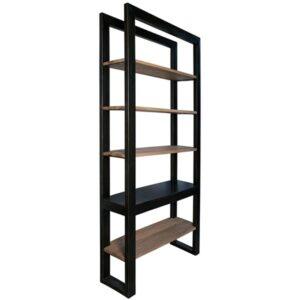 Winston Metal & Wood Bookcase