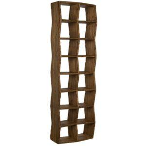 Zig Zag Wood Bookcase