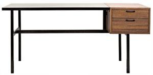 Metal Frame Algeron Desk