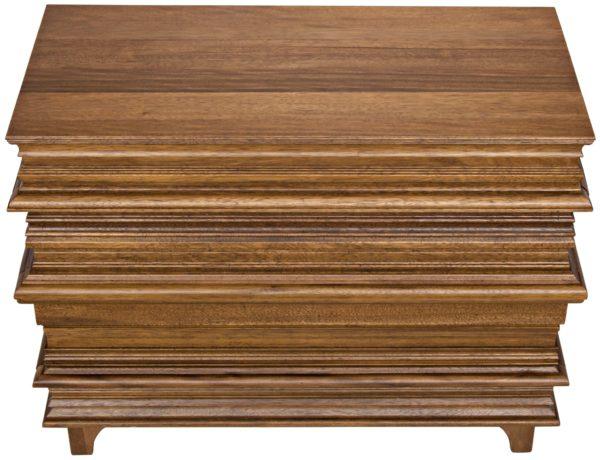 medium brown wood dresser