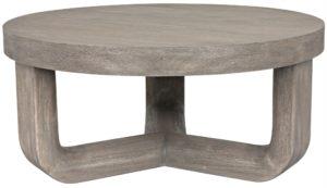 Joel Mahogany Grey Wash Coffee Table