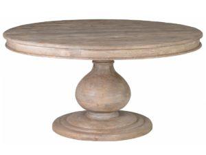 60″ Round Baldwin Pedestal Dining Table