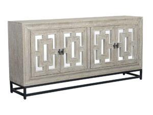 Grey Wash Artemis Sideboard with Mirror Doors