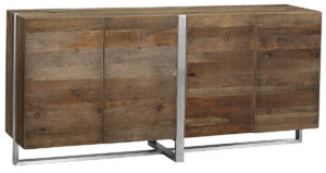 Grant Sideboard with Stainless Steel Base