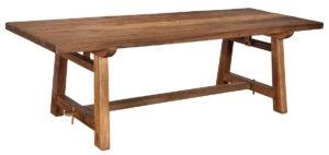 96″ Solano Large Teak Dining Table