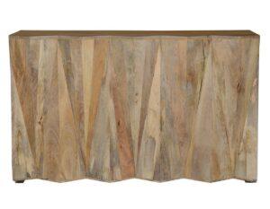 Prism Reclaimed Wood Bar Cabinet