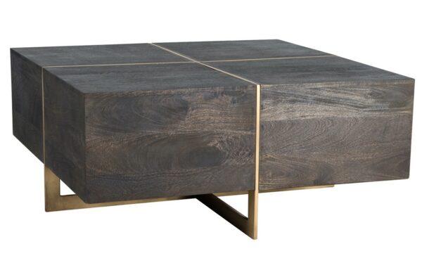 dark espresso square coffee table