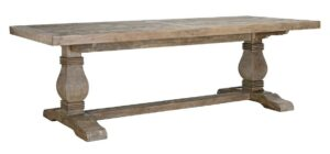 94″ Reclaimed Pine Trestle Dining Table