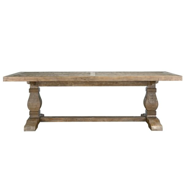 wood Dining Table front view