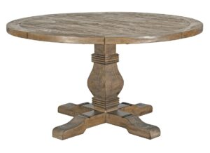 72″ Pedestal Round Dining Table
