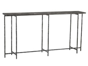 Echo Stone and Iron Console Table 60″