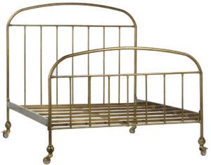 Molina Brass Iron Bed Frame