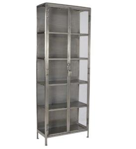 Goodman Iron Glass Cabinet