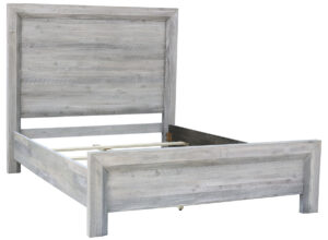 Clancy Grey Washed Wood Bed