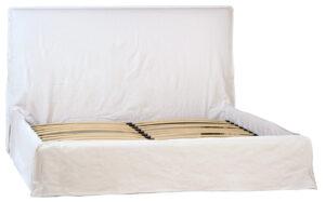 Whitney White Slip Cover Bed