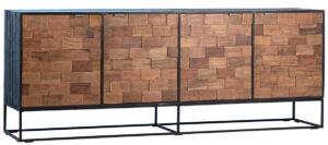 Tacoma Acacia Wood Media Sideboard