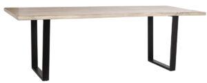 90″Brixton Grey Wash Mango Wood Dining Table