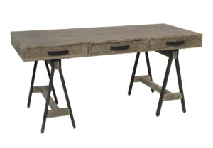 65″ Campaign Desk with Drawers