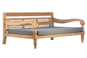 Hilton Teak Wood Daybed Outdoor with Cushion