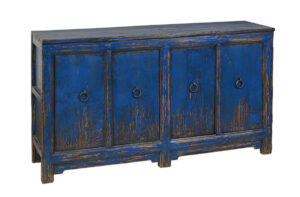 Amherst 4Dr Buffet Distressed Blue