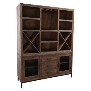 Madison Modern Wood Bar Cabinet