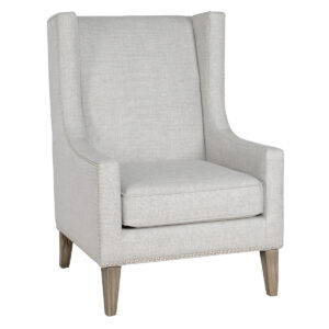 Erie Gray Upholstered Club Chair, Set of 2