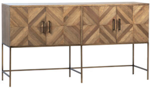 Iverson Reclaimed Wood and Iron Sideboard