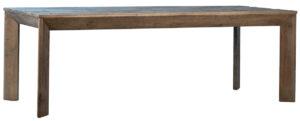 87″ Grafton Oak Wood Dining Table
