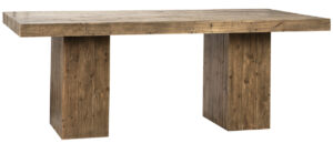 79″ Welbeck Reclaimed Wood Dining Table