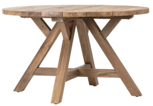 51″ Round Teak Outdoor Dining Table