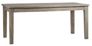 71″ Zion Grey Mango Wood Dining Table