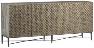 Elvas Reclaimed Wood Patterned Sideboard
