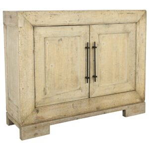 Parsons Reclaimed Pine Wood Small Cabinet
