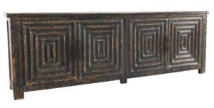 Weston Reclaimed Pine Wood Distressed Sideboard