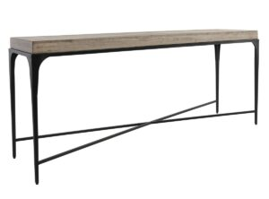 72″ Darwin Wood and Iron Console Table