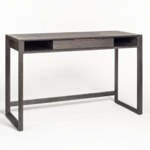 49″ Brushed Black Riley Desk