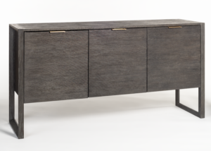68″ Modern Black Dexter Sideboard